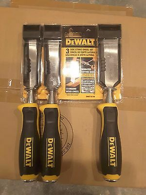 Dewalt 3 Piece Side Strike Wood Chisel Set