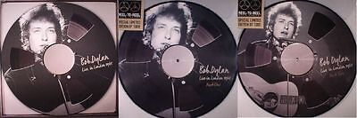 BOB DYLAN LIVE IN LONDON 1965 ~ 4 x NUMBERED/LIMITED/COLOUR VINYL LP ~ *NEW*