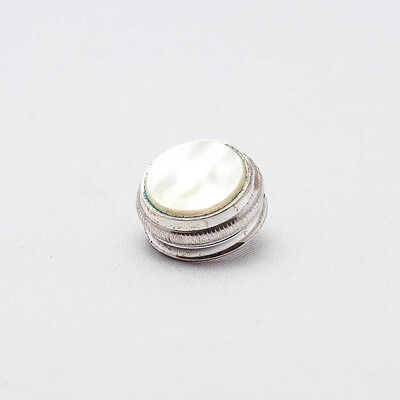 Finger Button (1) for Conn & Pan American Baritone, (Silver Plated) 8x40 NEW!