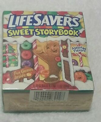 Life Savers Roll Candy SWEET STORYBOOK with Fun Games Inside