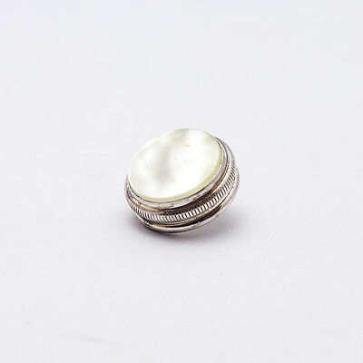 Finger Button (1) for Conn & Pan American Sousaphone, (Silver Plated) 6x40 NEW!