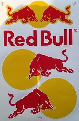 Universal Pickerl Red Sticker Bull 17x27cm