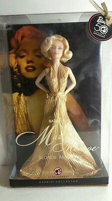 Barbie As Marilyn Monroe Blonde Ambition Pink Label 50Th Anniversary(Sh)