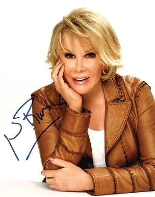 Joan Rivers Signed Photo Aprox 10X8 Copy (1)