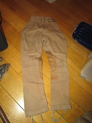 WW1 British Officers Pants  Summer Weight For Middleeast Gallipoli