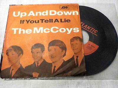 """7""""  *60's* THE McCOYS - Up And Down  *ex rare"""