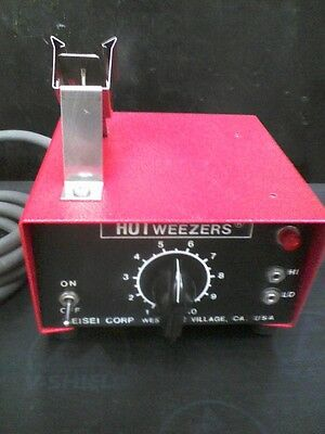 Meisei Corporation Model 4C Hotweezers And M10 115V Power Supply