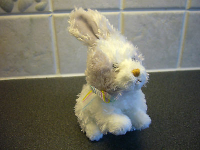 """2010 TY -  Basket Beanies Collection Bunny Rabbit """"Hobsy""""  - vgc - Rare"""