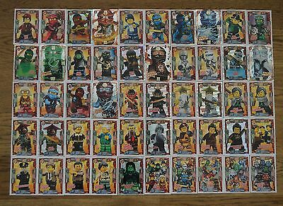 Lego Ninjago™ Serie 2 Trading Card Game Cards choose Trading cards 1 - 50