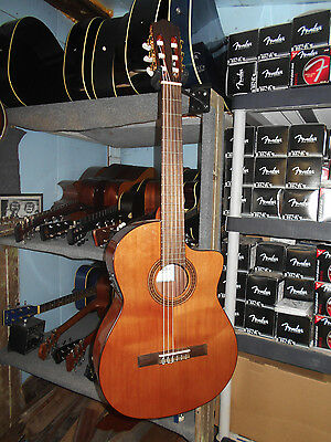 Cordoba C5-CE Cutaway Acoustic-Electric Classical Fusion Guitar
