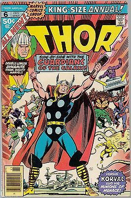 Thor Annual 6 mid-grade copies!! New Guardians movie coming! first App Brawl