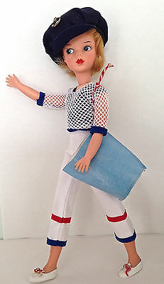 PEDIGREE SINDY VINTAGE MAMSELLE 'ALL ABOARD' REPRO OUTFIT no doll or shoes