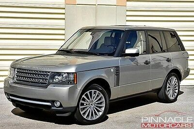 2011 Land Rover Range Rover  $106,565 2011 Range Rover Supercharged Loaded Navi Rear Ent. Clean Carfax!