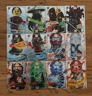 Lego Ninjago™ Serie 2 Trading Card Game all 12 Ultra Cards complete