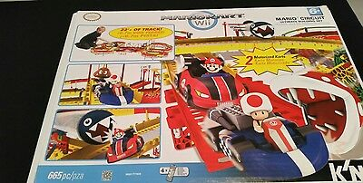 wii mario kart knex & toad side stepper challenge building set