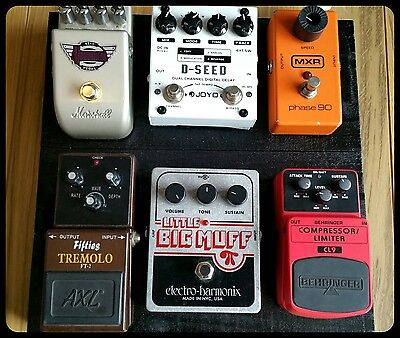 RAPTOR Pedalboard - for Guitar & Bass (multi) Effect Pedals * NEW *