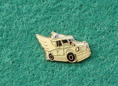 RUC Royal Ulster Constabulary Police SPG LAND ROVER tie tac pin badge .