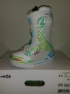 Thirty two snowboard boots Womens 86 FT 14' WHITE Size 7