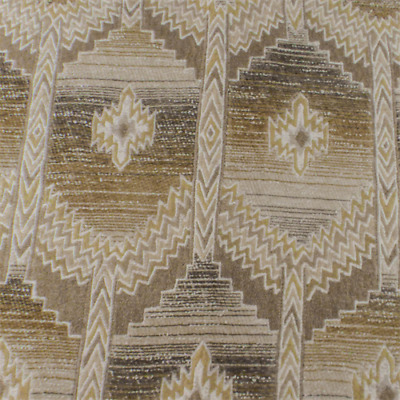 SAND BEIGE AZTEC Chenille Home Decorating Fabric, Fabric By ...