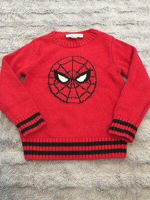 Baby Gap Junk Food Spider-Man Sweater Size 5