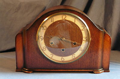 Vintage British Smiths Westminster Chiming Clock - Somerset - working