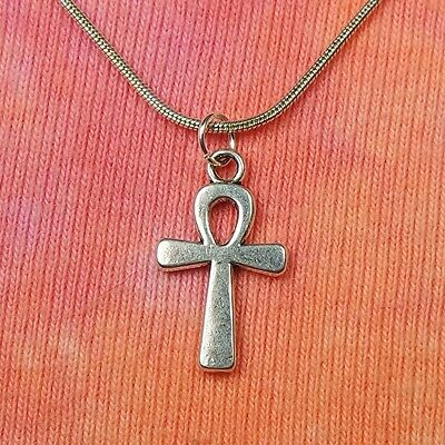 Classic Egyptian Ankh Necklace, Egypt Key of Life Crux Ansata Charm Pendant Gift