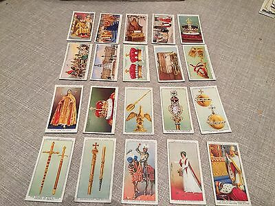 Churchman The Kings Coronation Loose Cards