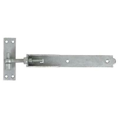 "Hook and Band Hinges Heavy Duty Adjustable/ Galvanised 12"" - 18"" - 24"" A11-A13"