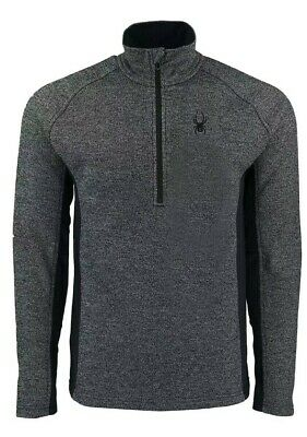 Spyder Outbound  Men's Half Zip Mid WT Core Sweater NWT FAST, FREE SHIPPING