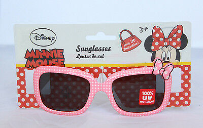 Disney Minnie Mouse Kids Sunglasses 100% UV Protection Girls Childrens Cute Pink