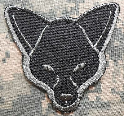 Fox Head Usa Army Morale Tactical Isaf Combat Military Acu Dark Hook Patch