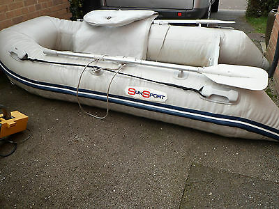 sun sport inflatable 265 boat