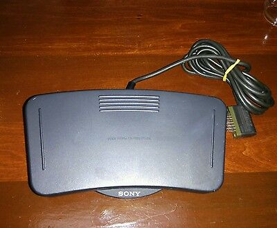Sony FS-85 Foot Control Unit Transcription and Voice Dictation Pedal FREE SHIP