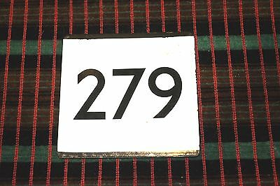 LONDON TRANSPORT BUS STOP E-PLATE for Route 279 Chingford Edmonton Enfield