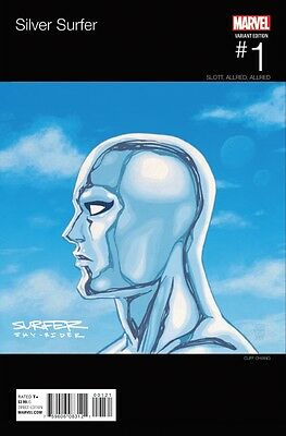Silver Surfer #1 Hip Hop Variant 2016 Marvel Comics