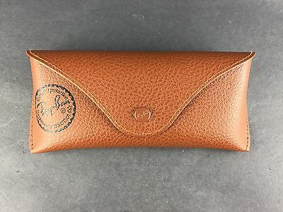 Ray Ban Luxottica Brown Sungalsses Case ONLY