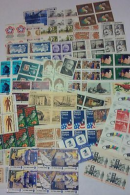 200 Assorted Mixed, Multiples & Singles of 8¢ US PS Postage Stamps. F.V. $16.00