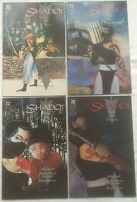 Shado Song of the Dragon Books 1 2 3 4 Complete Arrow TV Character DC Comics