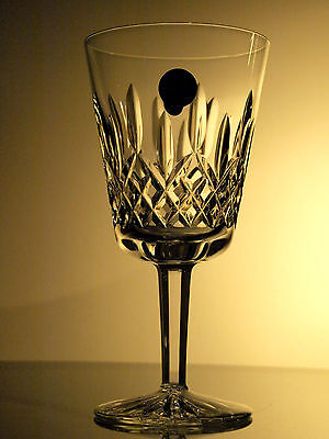 Waterford Crystal Signed Lismore 10 Oz Goblet Glass/ Glasses Brand New