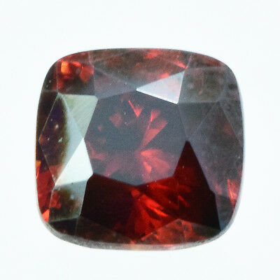 Beauteous Luster Genuine Red Sphalerite Cush 6 Mm 1.33 Carats From Spain
