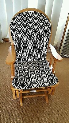 Childs glider rocking chair