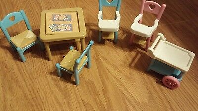 Fisher Price Loving Family Lot Of Furniture!