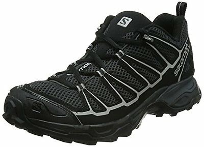 Salomon Men's X Ultra Prime Multifunctional Hiking Shoe, Asphalt/Black all sizes