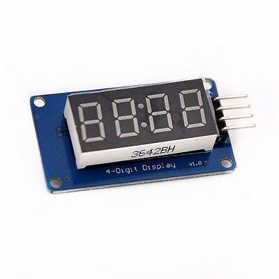 4 digit 7 Segment TM1637 Digital Tube LED Clock Display Module For Arduino