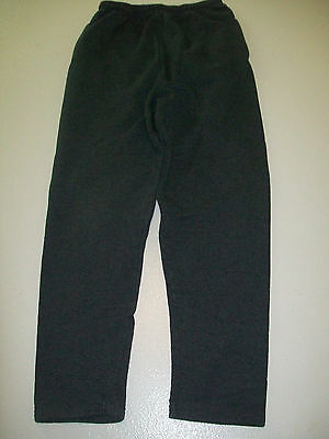 Size Small Fruit Of The Loom Gray Straight Let Sweat Pants No Elastic At Ankle