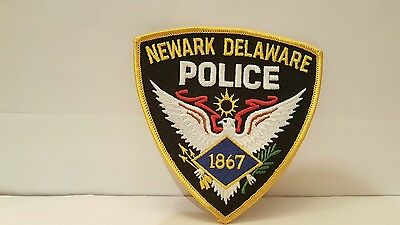 Police Department Newark Delaware Police Color Patch