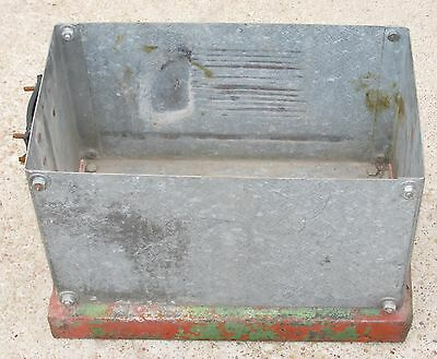 Vintage Battery Box Tractor Hit Miss Engine Other