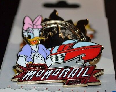 Disneyland Disney Monorail Limited Release Mystery Set Pin Daisy Duck New