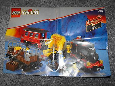 LEGO 3225 9 V Classic Train INSTRUCTION MANUAL ONLY