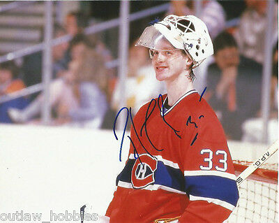 Montreal Canadiens Patrick Roy Signed Autographed 8x10 COA A